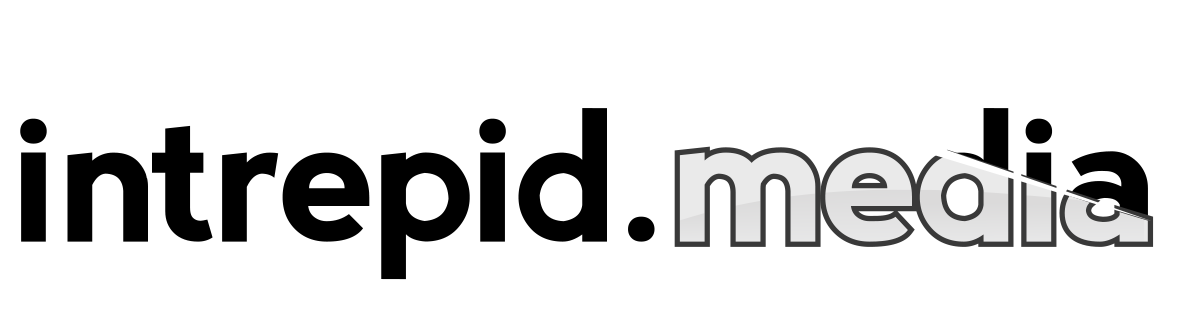 intrepidmedia logo for dark background